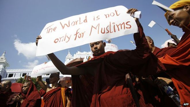 Buddhist monks in Burma are helping the government enact anti-Muslim laws.