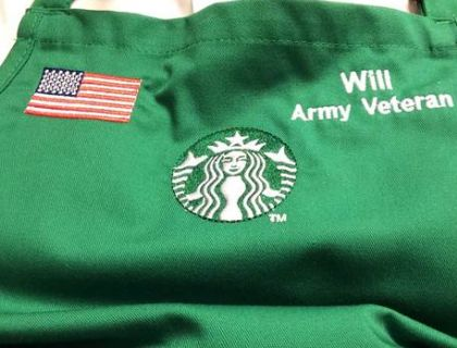 Starbucks Offers All Veteran Employees Free College For Their Spouse Or Child.