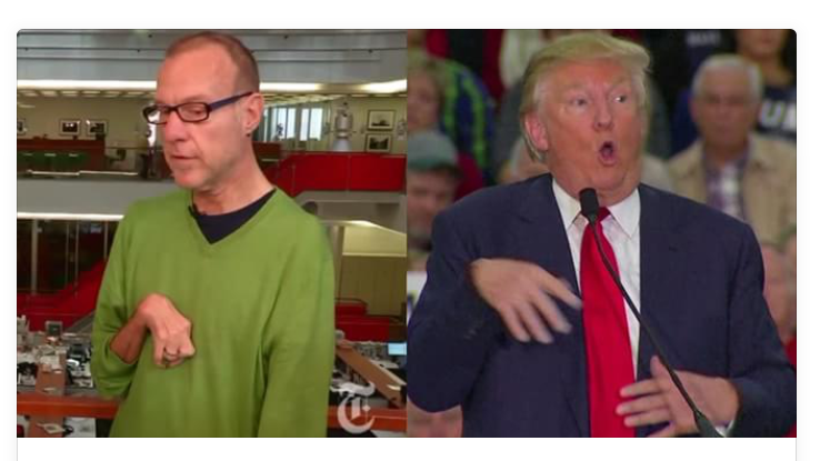 Donald Trump Mocks And Ridicules A Man With Disability.