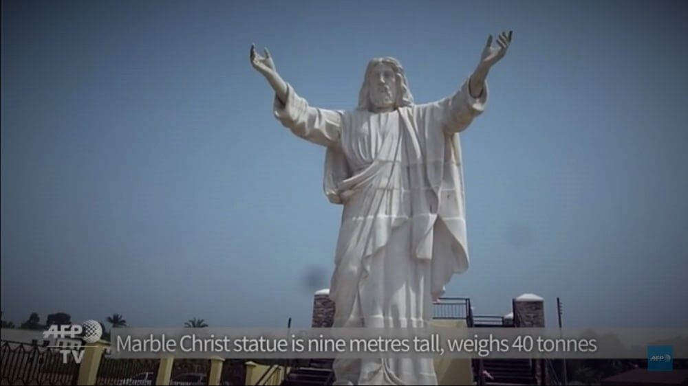 Nigeria (with 70% living in poverty) Unveils Largest Jesus Statue in Africa.