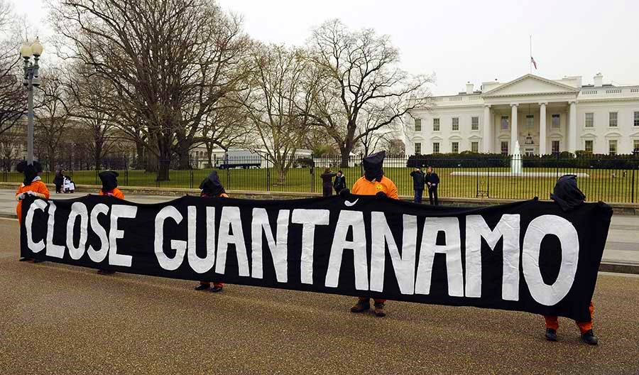 Obama Announces Plan to Close Guantanamo Detention Facility.