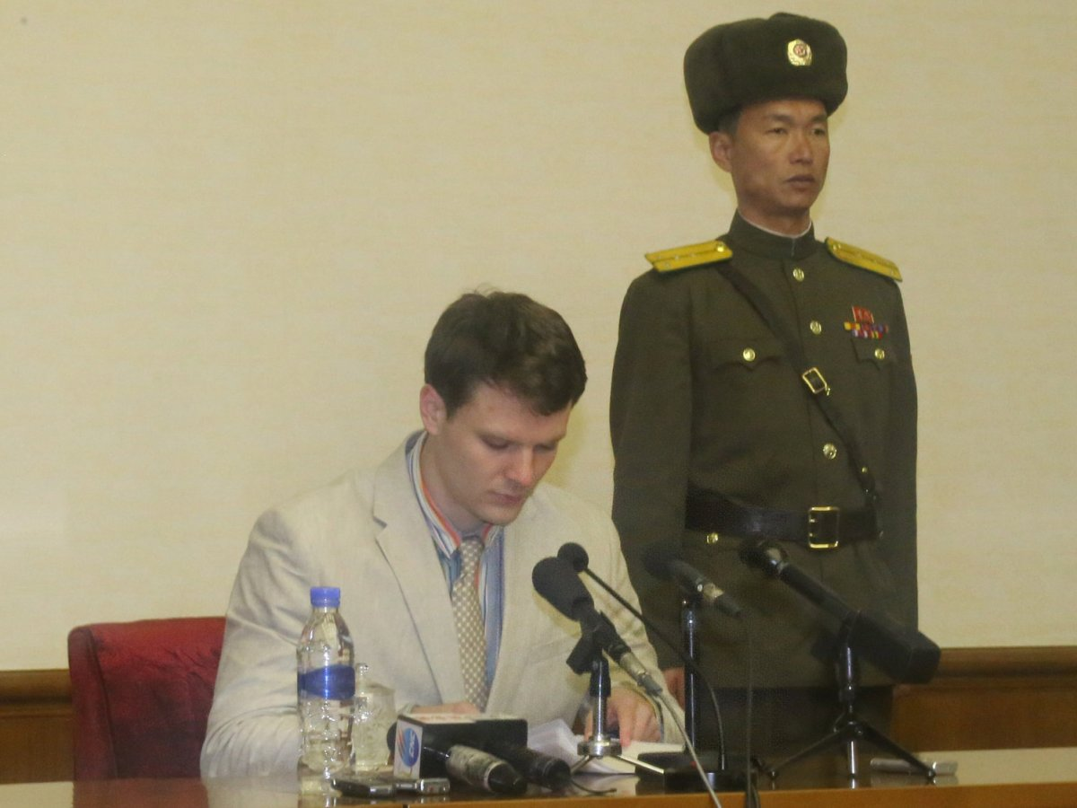 N. Korea Sentences American Student To 15 Years Of Prison, Hard Labor.