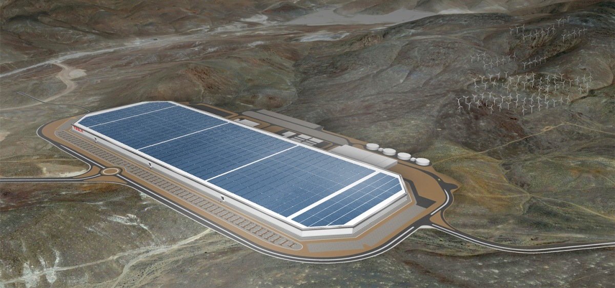 A Rare Look Inside The 'Gigafactory' Tesla Hopes Will Revolutionize Energy Use.