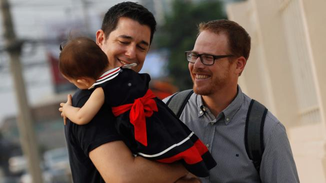 Gay Couple Wins Custody Battle Against Thai Surrogate Mother.