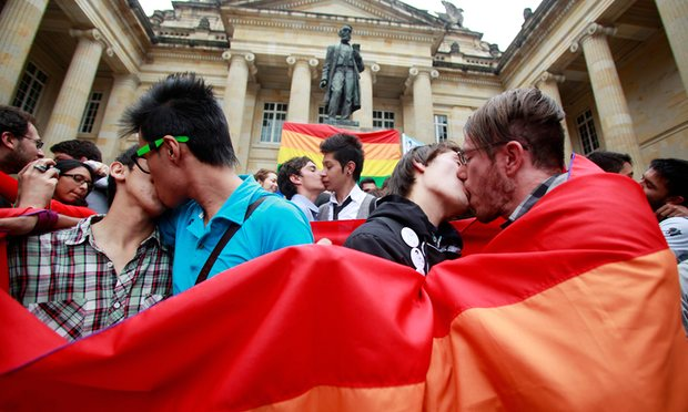 Colombia becomes 22nd country in the world to legalize gay marriage.