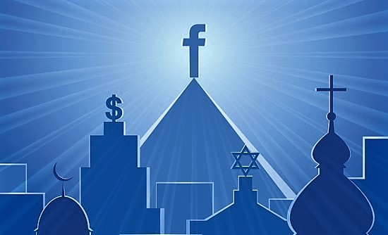 Teenagers are picking and choosing religion to customize their needs onFacebook.