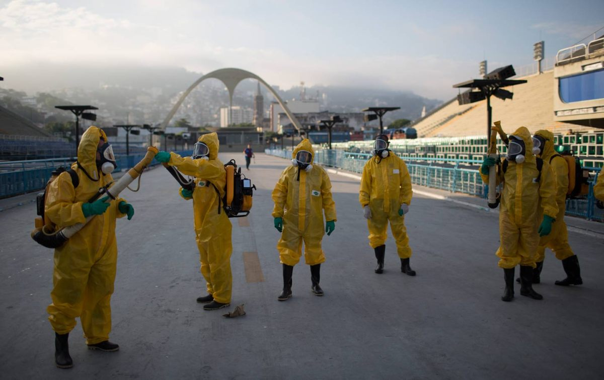 Health experts ask Brazil to consider moving or delaying Olympics due to Zika virus.