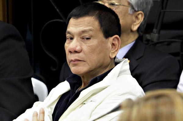 Philippine's president says journalists are not exempt fromassassination.