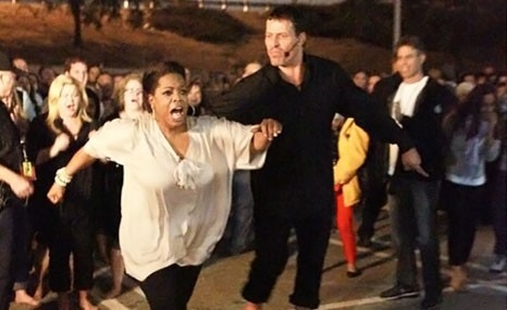 30+ people reported burned in Tony Robbins' motivational hot-coals walk.