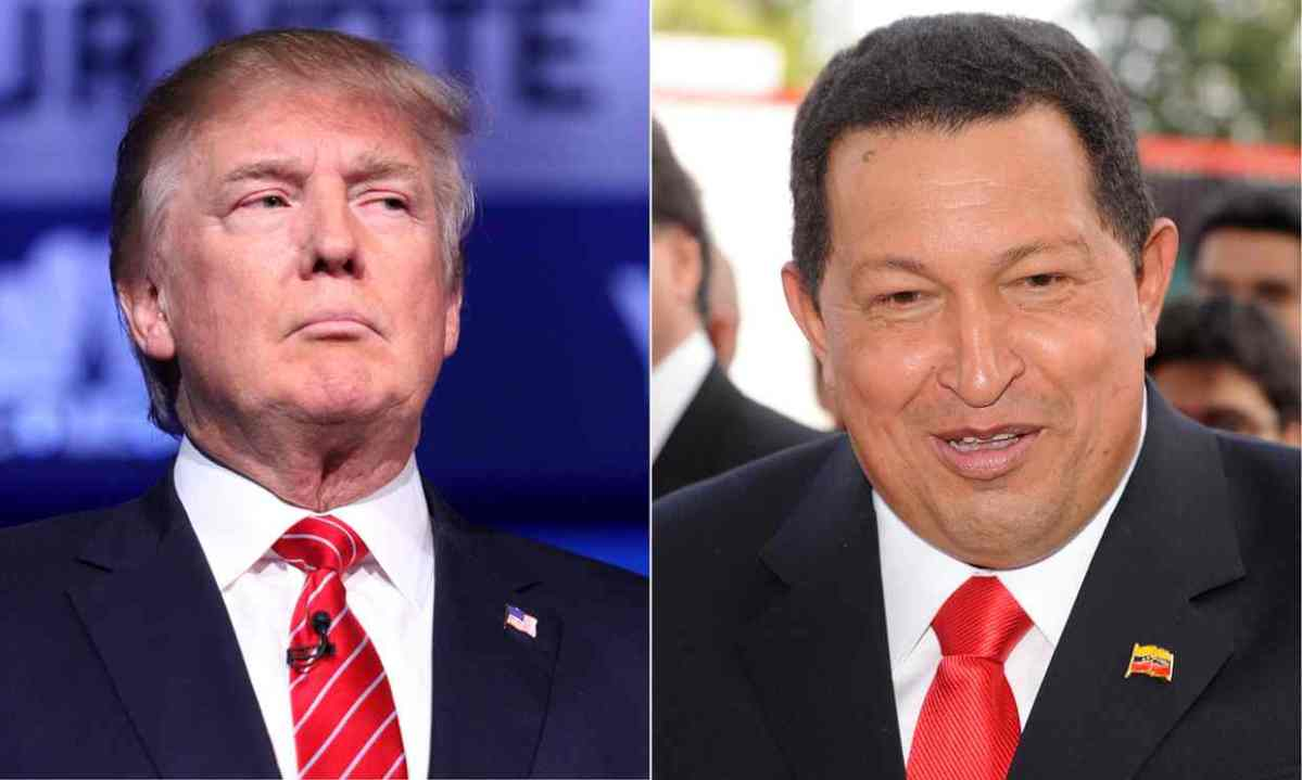 Insult, provoke, repeat: how Donald Trump became America's Hugo Chávez.