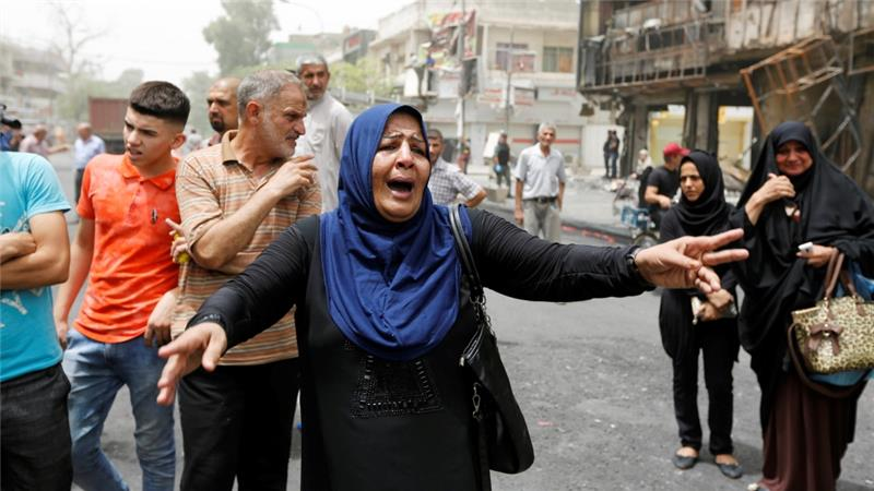 Iraq bombing in Baghdad death toll rises to250.