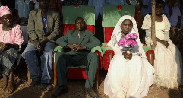 Gambia and Tanzania outlaw child marriage.