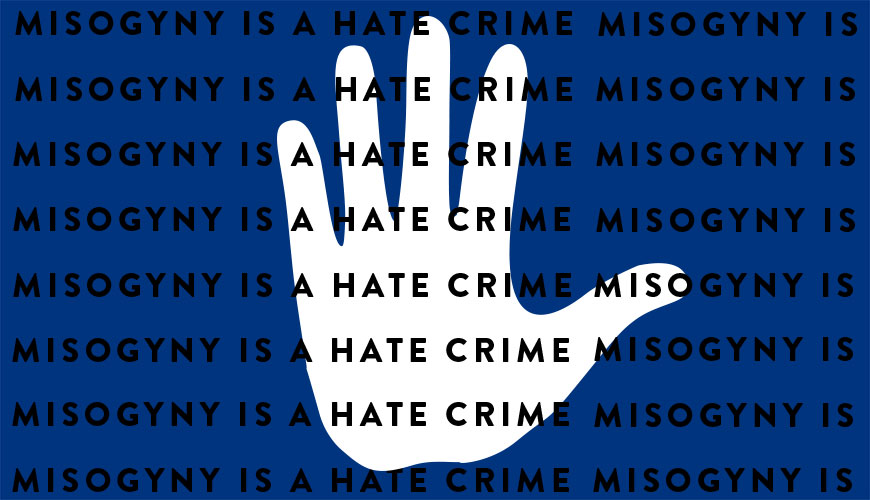 Misogyny is going to be treated as a hate crime for the first time in the UK.
