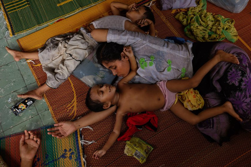 Muslims in Burma (Myanmar) now facing finals stages of genocide.
