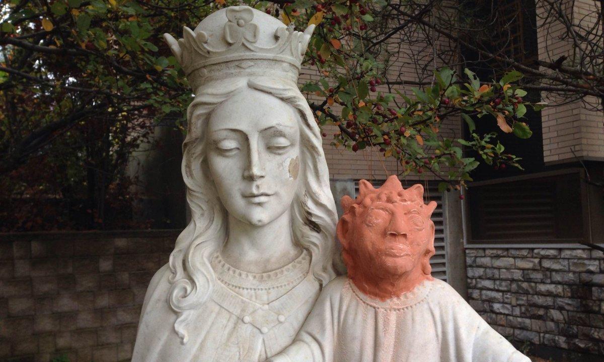 Baby Jesus statue in Canada gets shockingrestoration.