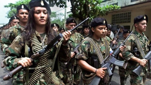 Colombians vote on the historic peace accord with the guerrillas.