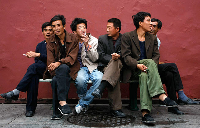 Millions of heterosexual Chinese men will never marry or have intimate relations withwomen.