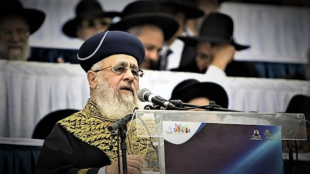 "Chief rabbi says ""immodest"" secular women are like animals."