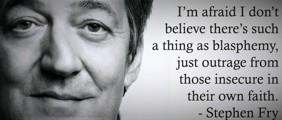 Irish police drop Stephen Fry blasphemy investigation due to 'lack of outragedpeople'