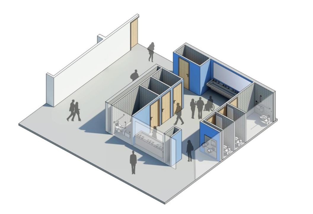 Designing School Restrooms for Increased Comfort, Safety and Gender-Inclusivity.