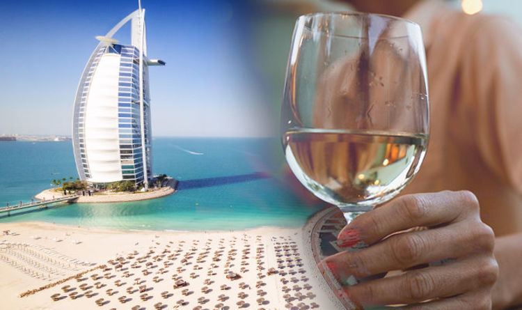Woman held in Dubai after drinking wine on flight.