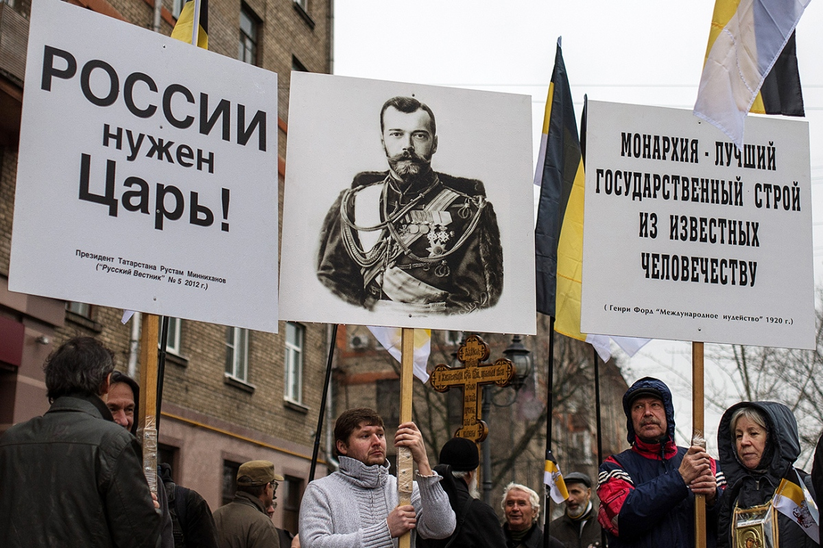 School in Russia wants a return to monarchy reversing 100 years of history.