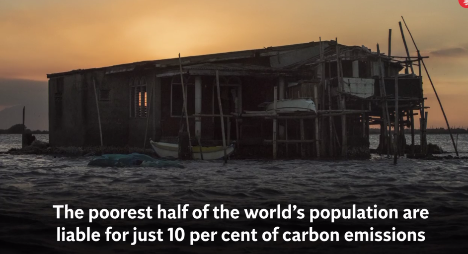 Climate apartheid will push 120 million into poverty by2030.