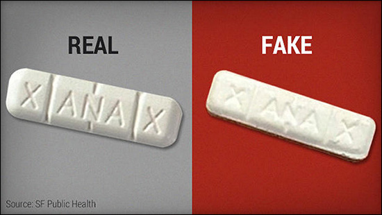 Deadly Fentanyl Hits the Streets Disguised as Xanax andNorco.