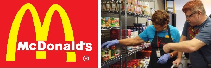 There are more food banks than McDonald's in theUK.