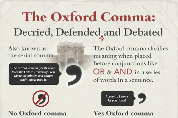 A Few Words About That Ten-Million-Dollar Serial Comma.